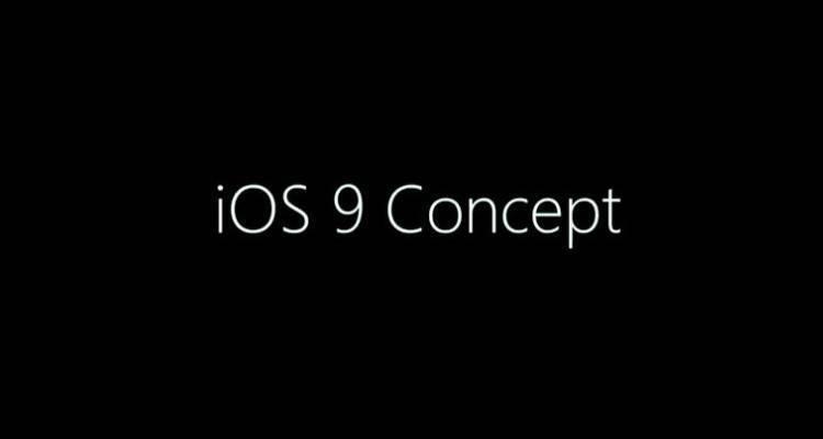 Nuovo concept di iOS 9