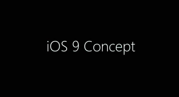 iOS 9: in rete un concept tanto inedito quanto ambizioso!