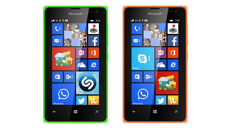 Microsoft Lumia 435 e 532: due imperdibili offerte su Amazon