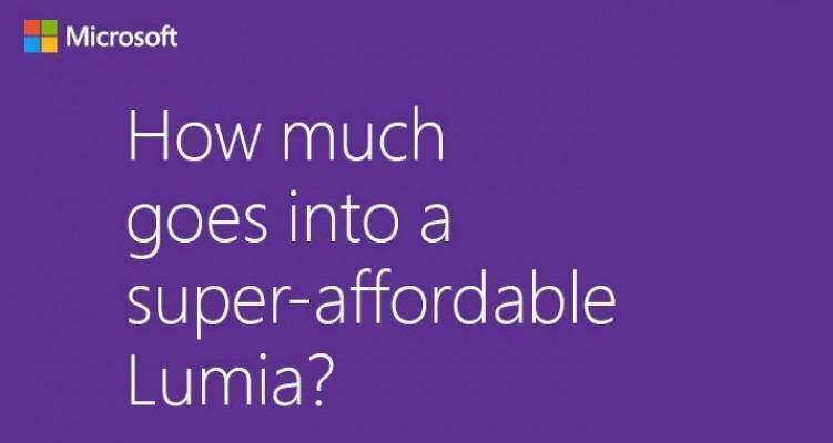 Microsoft: nuovo Lumia super economico in dirittura d'arrivo
