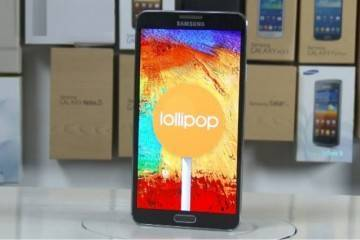 Samsung Galaxy Note 3: aggiornamento a Lollipop per modelli no brand!