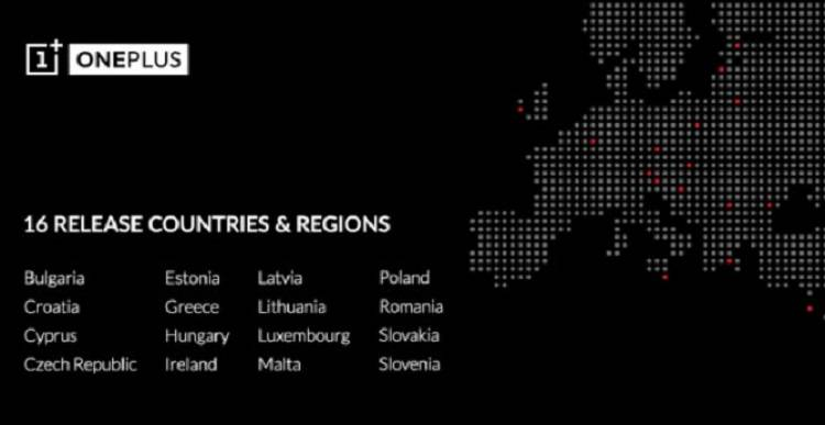 OnePlus arriva in Europa: vendite al via in 16 nuovi Paesi