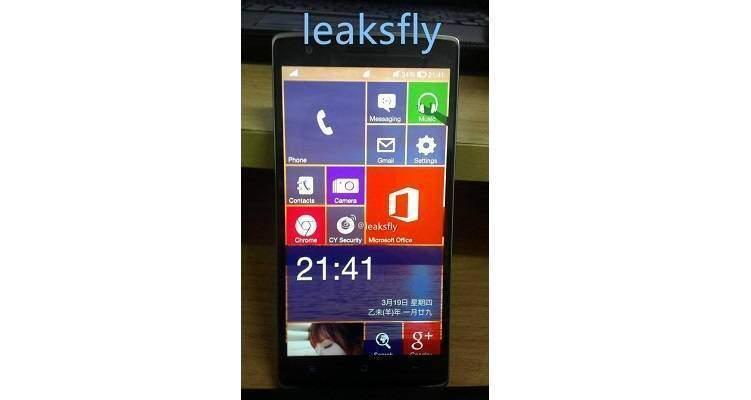OnePlus One con Windows 10: realtà o fantasia?