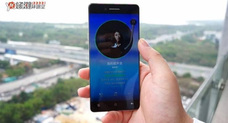Oppo R7: mostrato in un video lo smartphone senza cornici!