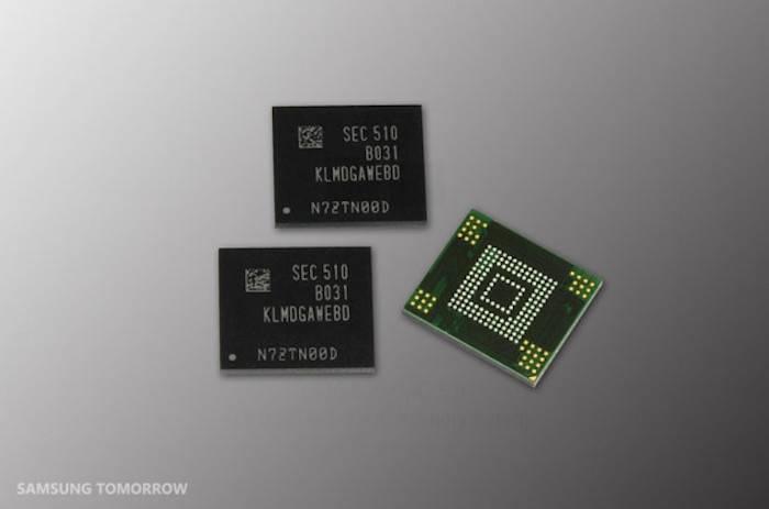 Samsung annuncia memorie NAND da 128 GB 3-bit ad alte prestazioni per i dispositivi mobili