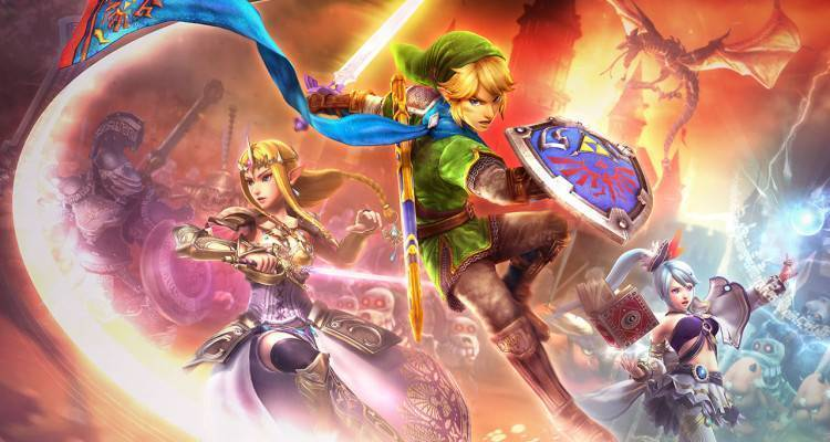 Zelda: Hyrule Warriors.