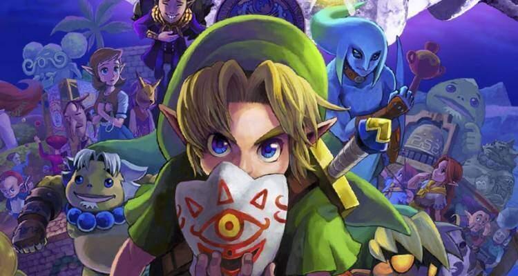 Zelda Majora's Mask 3D.