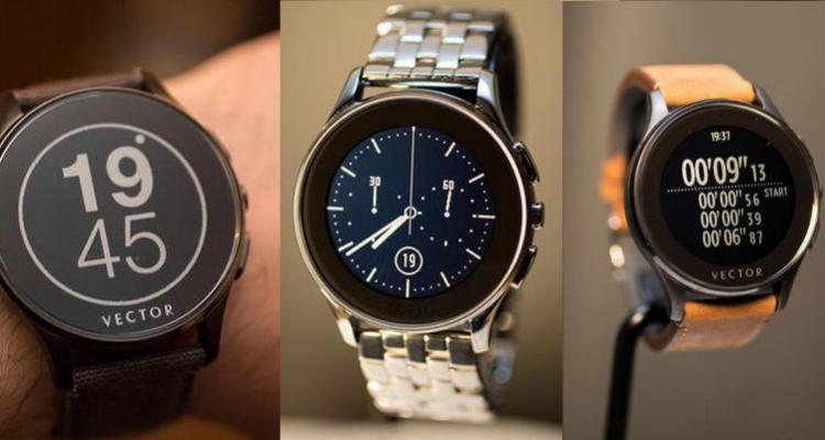 Immagini di Vector Luna, nuovo smartwatch di produzione londinese