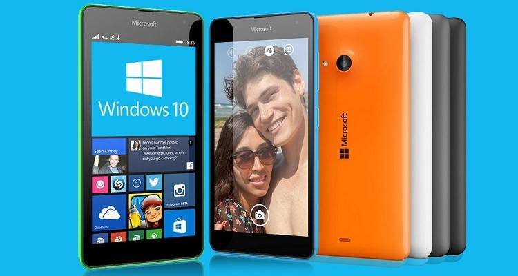 Windows 10 è in dirittura d'arrivo su smartphone