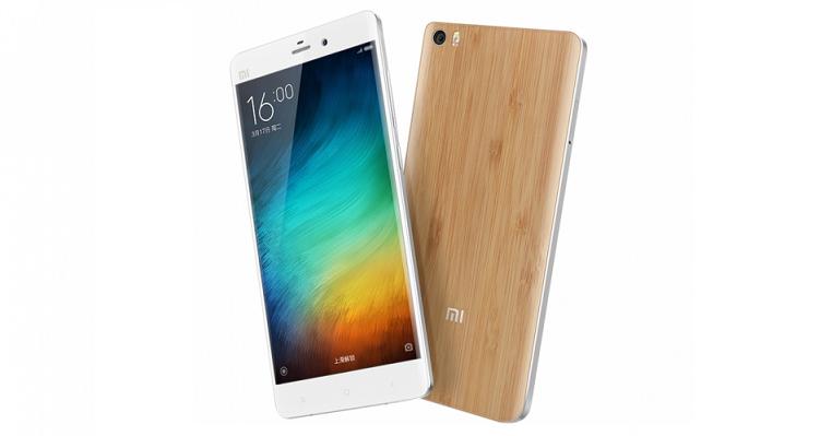 Xiaomi Mi Note si veste di bambù e il design è ancora più bello