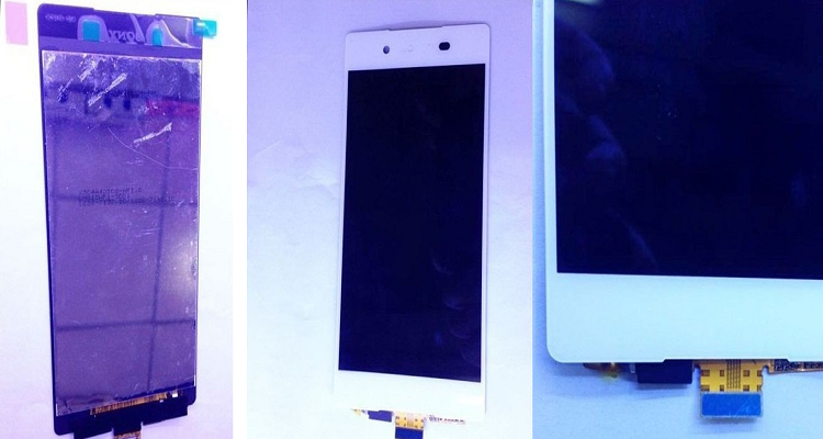 Immagini leaked del display di Sony Xperia Z4