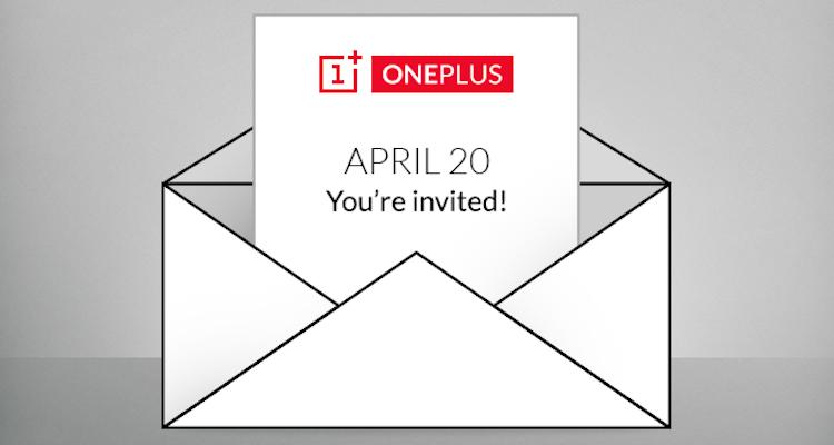 Immagine condivisa da OnePlu su Twitter per l'evento del 20 aprile 2015
