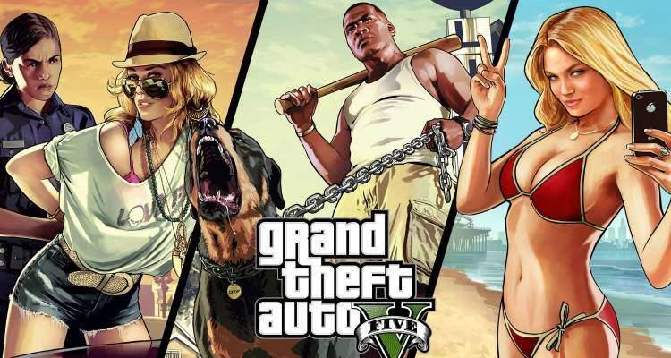 Grand Theft Auto 5: 7 dischi per la versione PC