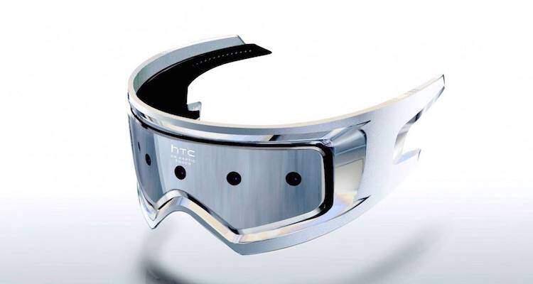 Immagine che mostra il nuovo presunto visore di HTC