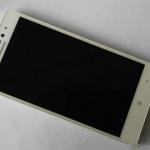 Foto del nuovo smartphone Lenovo A7600