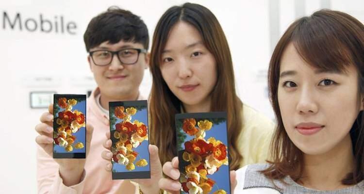 LG annuncia il nuovo display IPS che verrà utilizzato su G4