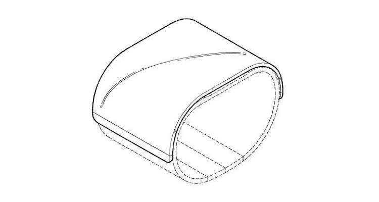 Immagine del nuovo dispositivo descritto nel brevetto LG