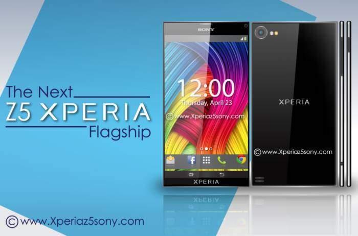 Sony Xperia Z5, il concept: phablet ultrasottile con schermo 4K?
