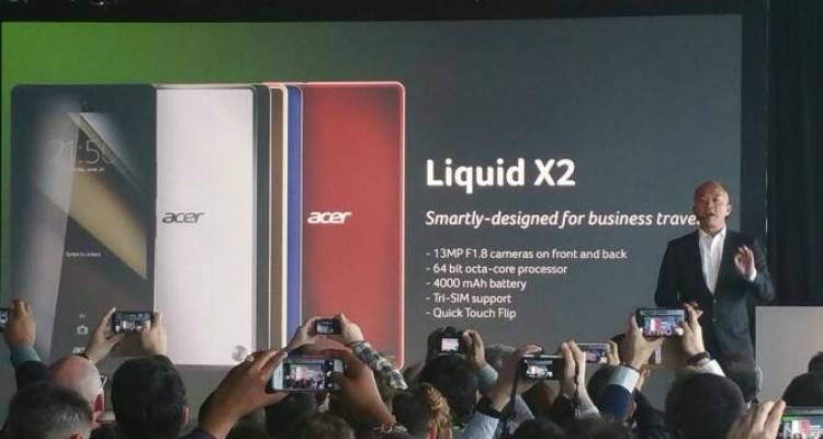 acer liquid x2 presentato ufficialmente