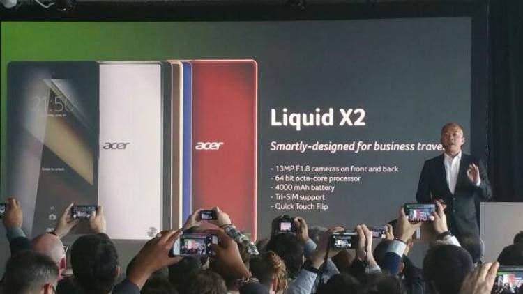 Acer annuncia lo smartphone Liquid X2 e tre nuovi wearable