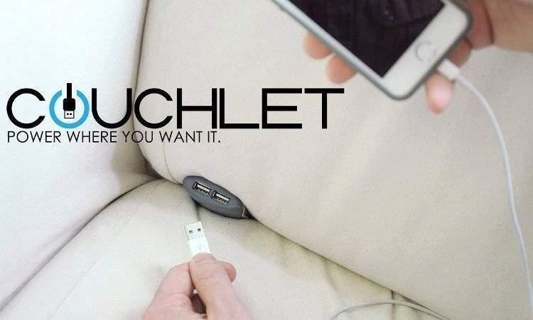 Couchlet: presa USB da divano su Indiegogo!