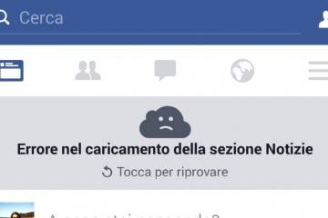 errore facebook