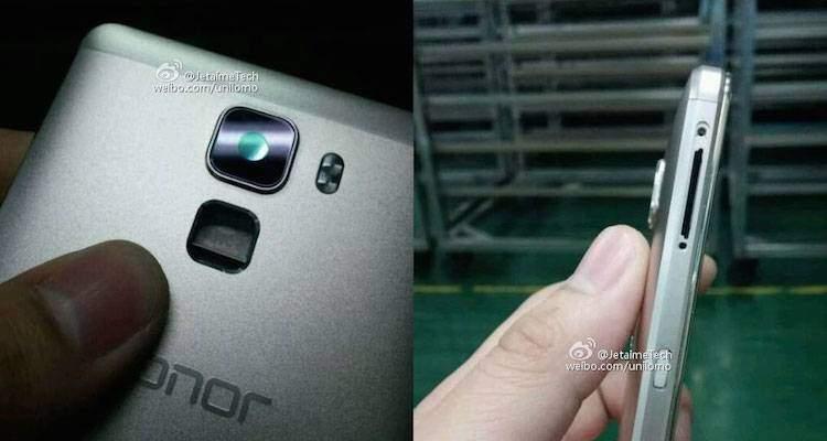 Huawei Honor 7, una nuova immagine mostra la scocca