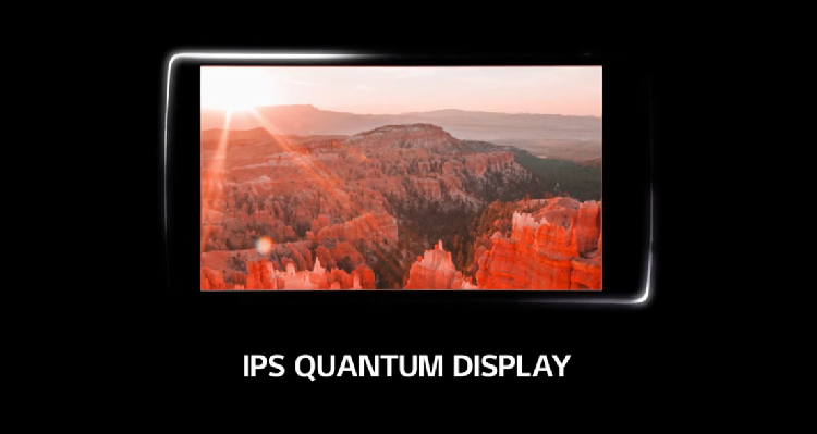 LG G4: primo teaser con display IPS Quantum QHD