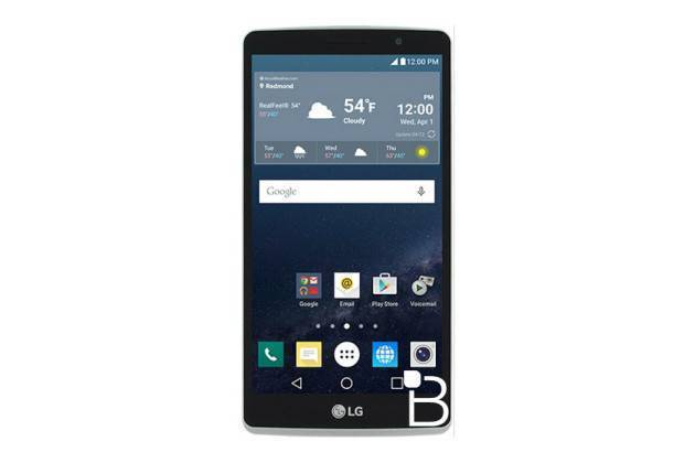 Rendering di LG G4 Stylus