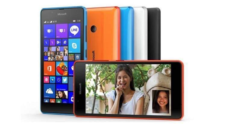 Microsoft svela Lumia 540 Dual SIM: caratteristiche e prezzo