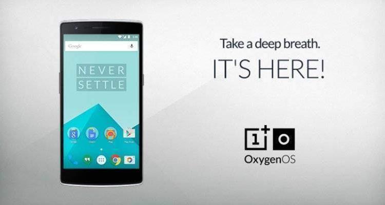 OnePlus One: rilasciata ufficialmente la Oxygen OS!
