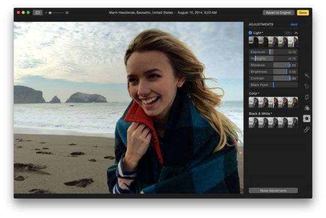Apple: nuova applicazione per le foto su OS X Yosemite v10.10.3!