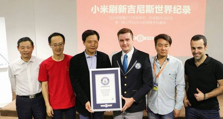 Xiaomi ha ottenuto un guinness world record