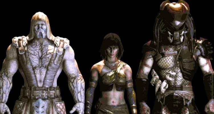 Mortal Kombat X: i render di Predator, Tremor e Tanya