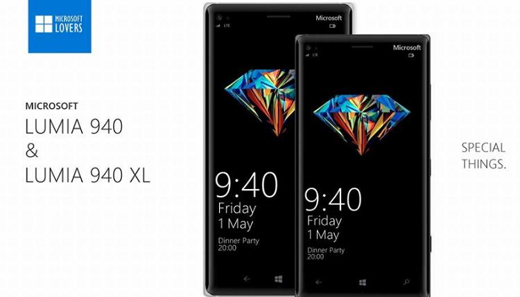 Microsoft Lumia 940 e 940 XL: prime ipotesi sul design