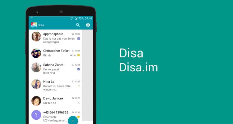 Disa, il client multipiattaforma: Facebook, WhatsApp e SMS unificati