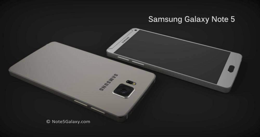 Samsung Galaxy Note 5, primi concept: addio ai bordi curvi?
