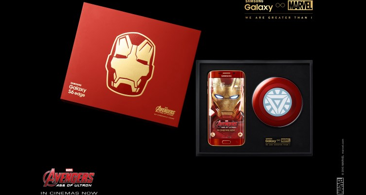 unboxing di samsung galaxy s6 edge iron man limited edition