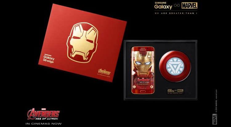 Samsung annuncia Galaxy S6 Edge Iron Man Limited Edition