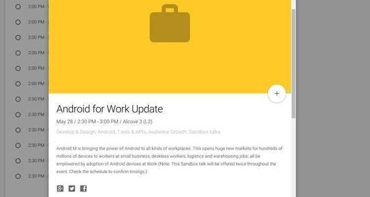 Google I/O 2015: Android M e nuovi wearable in arrivo!