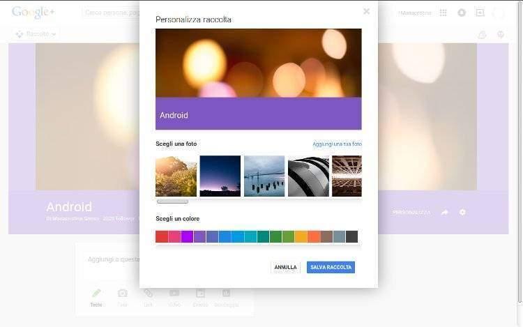 Google+ Collections: in arrivo nuovo servizio in stile Pinterest!