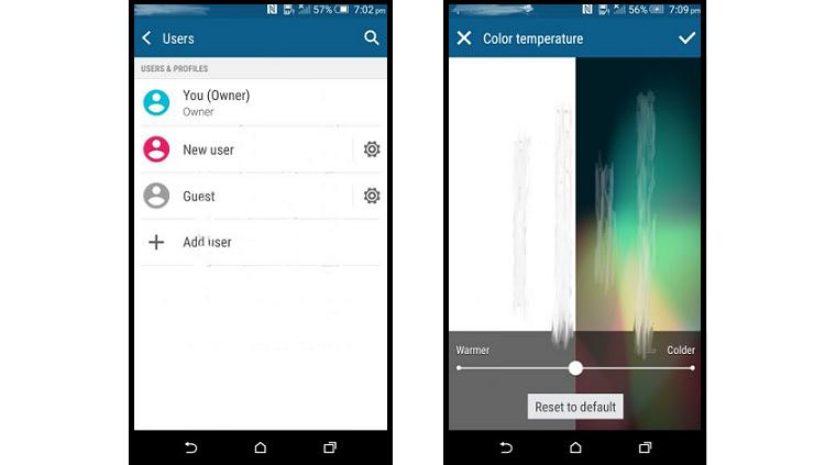 HTC One M9: modalità multiutente e gestione del display alle porte