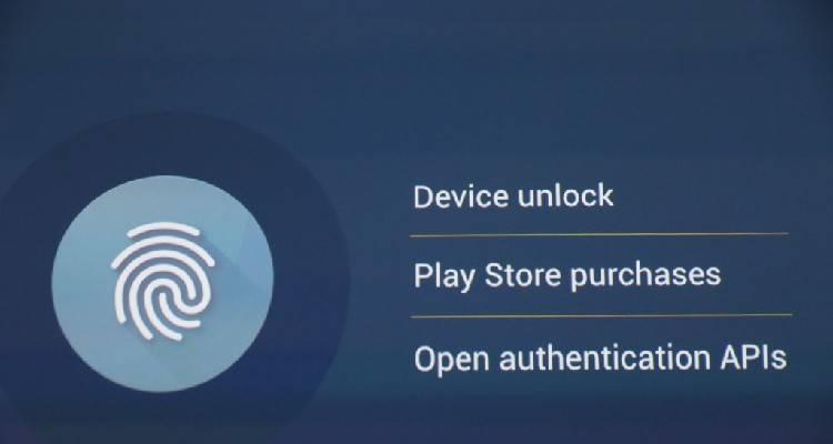android m leggerà nativamente le impronte digitali