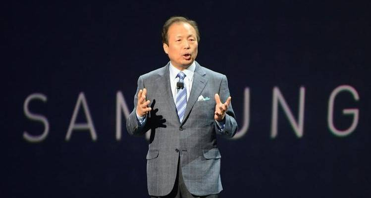 jk shin, presidente di samsung mobile