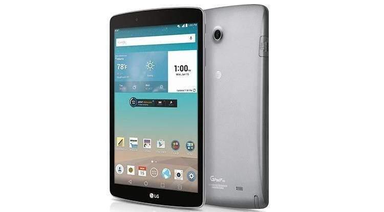 LG G Pad F 8.0: tablet di fascia bassa con Lollipop e pennino