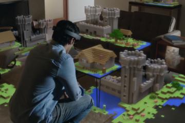 Minecraft HoloLens.