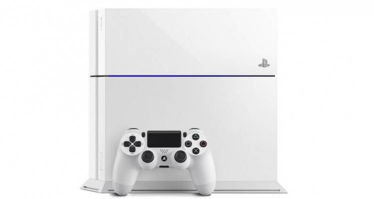Playstation 4 White.