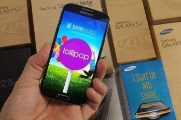 samsung galaxy s4 no brand riceve l'aggiornamento a lollipop