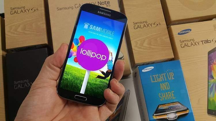 Samsung Galaxy S4 No Brand: Android Lollipop è ufficiale