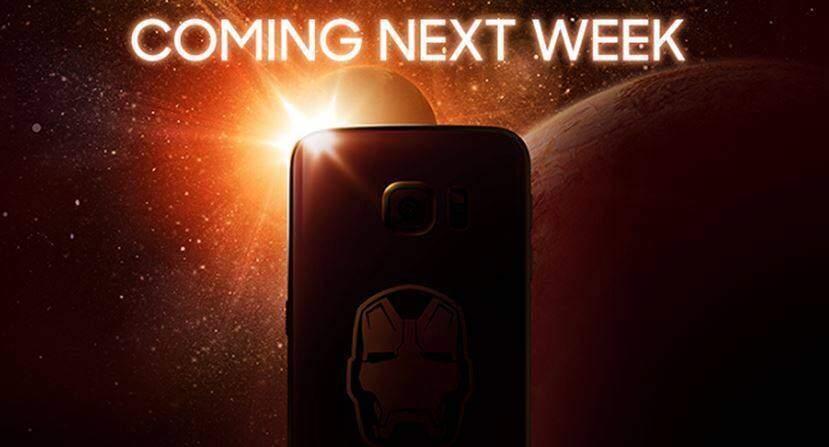Samsung Galaxy S6: la prima foto ufficiale della versione Iron Man Edition!